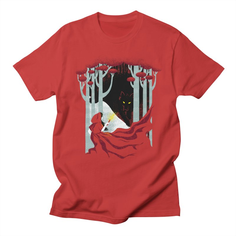 Into the Woods Men's T-shirt by Littleclyde Illustration