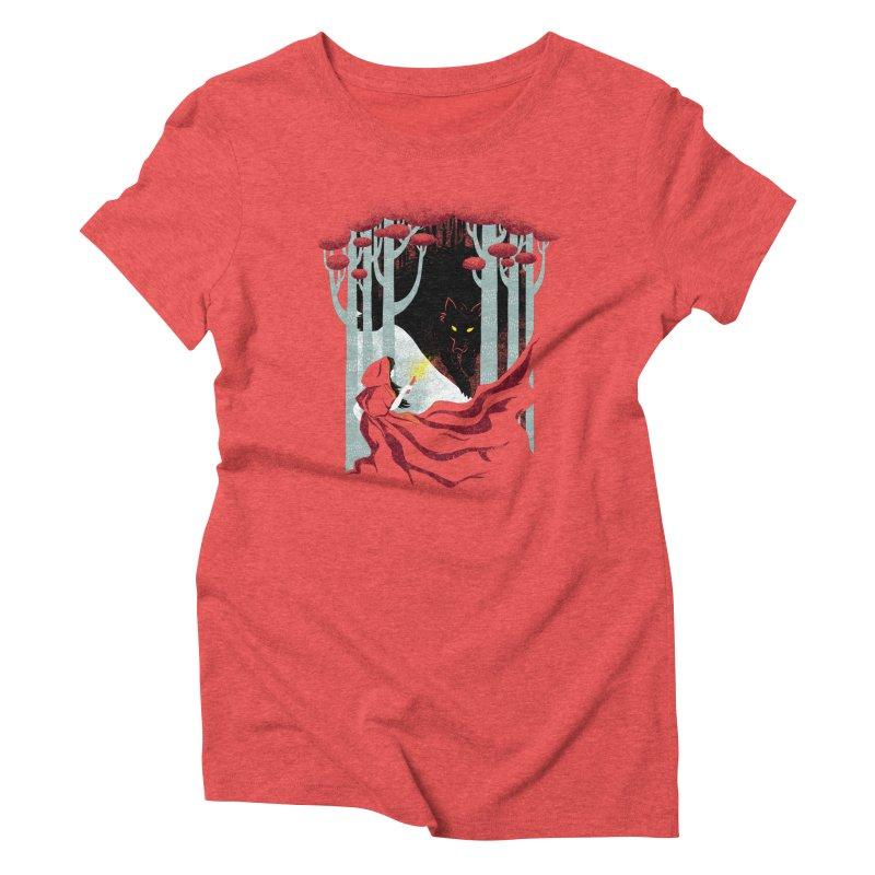 Into the Woods Women's Triblend T-shirt by Littleclyde