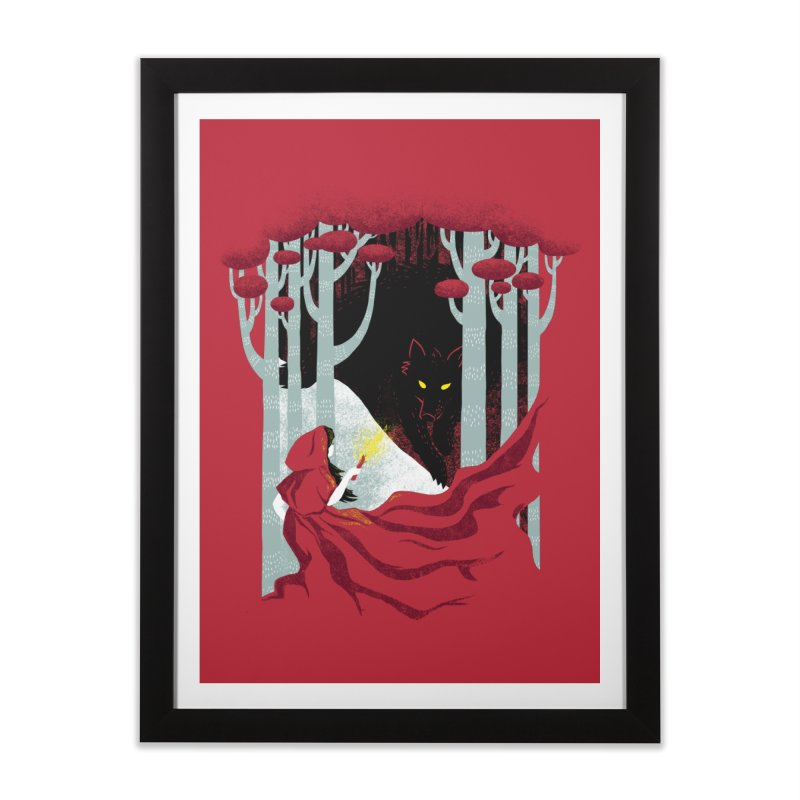 Into the Woods Home Framed Fine Art Print by Littleclyde