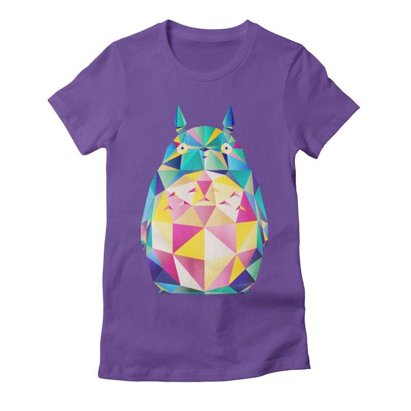 Joyful Spirit Women's Fitted T-Shirt by Littleclyde