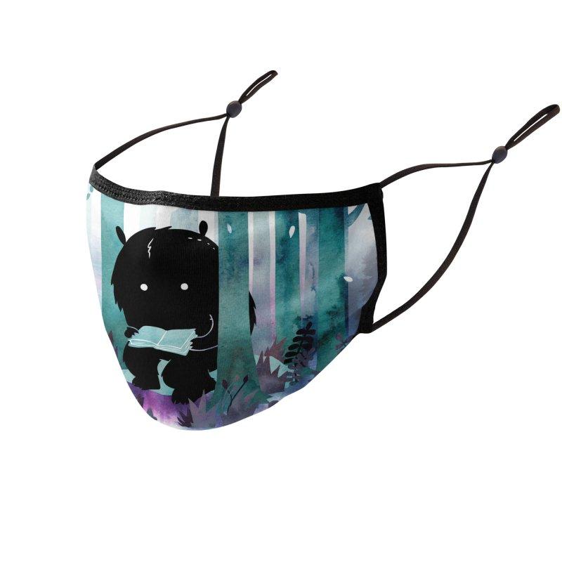 A Quiet Spot Accessories Face Mask by Littleclyde Illustration