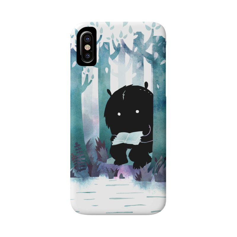 A Quiet Spot Accessories Phone Case by Littleclyde Illustration