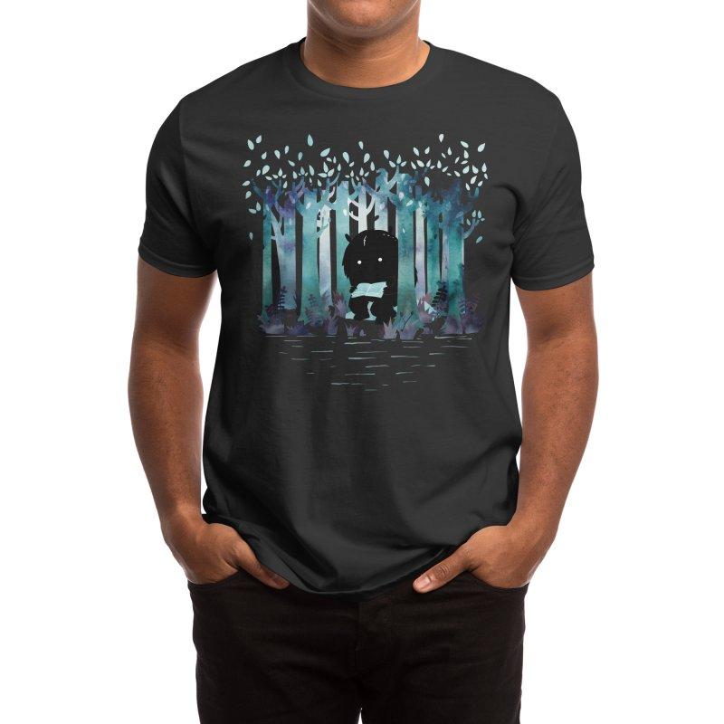 A Quiet Spot Men's T-Shirt by Littleclyde Illustration