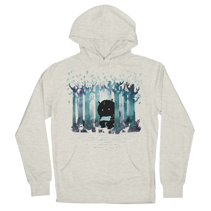 A Quiet Spot Men's Pullover Hoody by Littleclyde Illustration