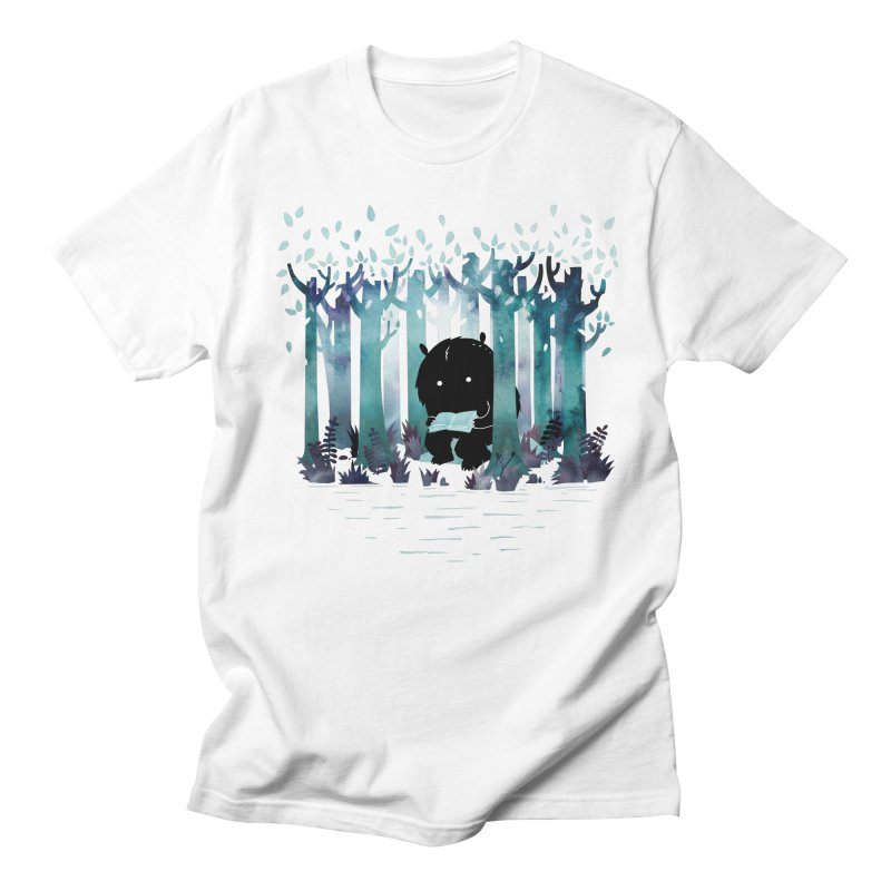 A Quiet Spot Men's T-shirt by Littleclyde Illustration