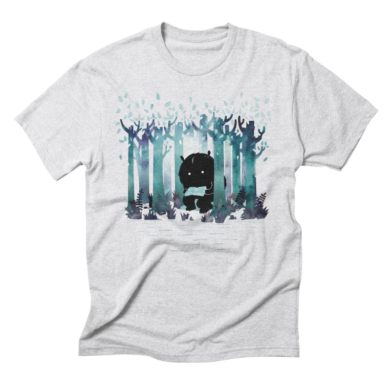 A Quiet Spot Men's Triblend T-Shirt by Littleclyde Illustration