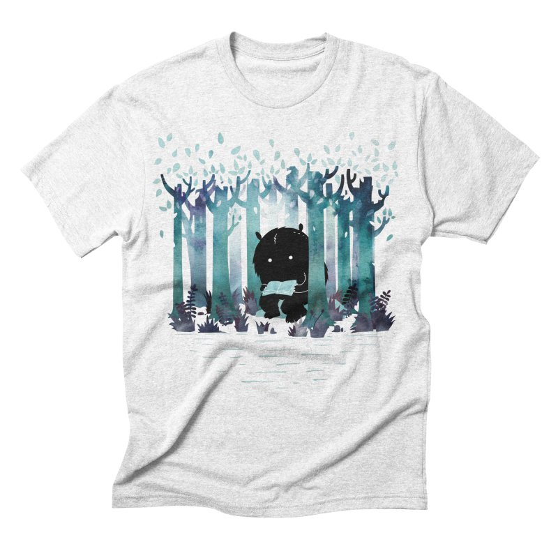 A Quiet Spot Men's Triblend T-shirt by Littleclyde