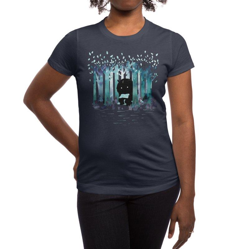 A Quiet Spot Women's T-Shirt by Littleclyde Illustration