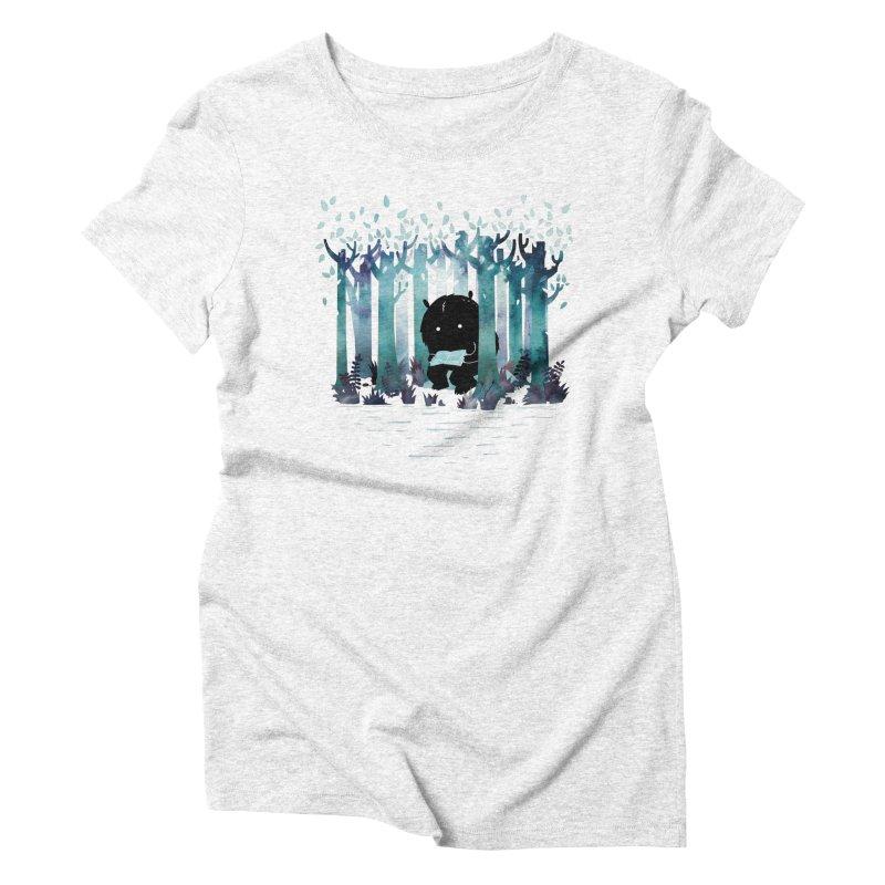 A Quiet Spot Women's Triblend T-shirt by Littleclyde