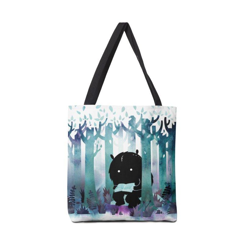 A Quiet Spot Accessories Bag by Littleclyde Illustration