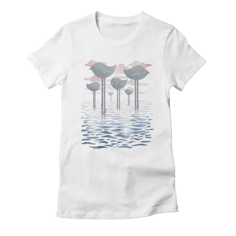 The Remnants Women's Fitted T-Shirt by Littleclyde