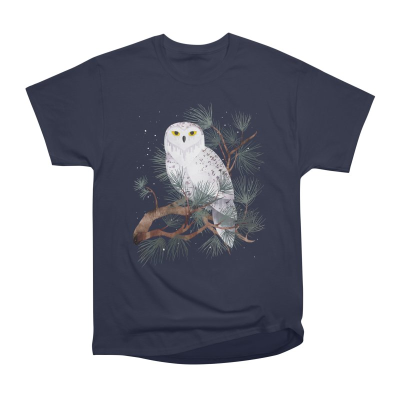 Snowy Men's Classic T-Shirt by Littleclyde Illustration