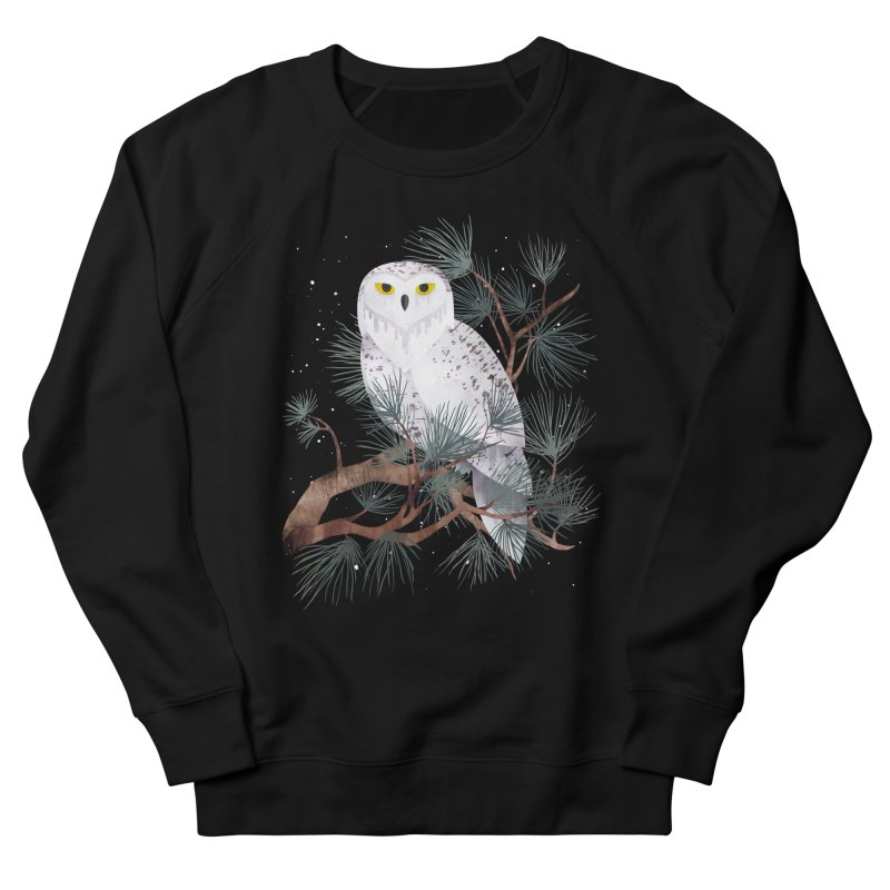 Snowy Men's Sweatshirt by Littleclyde Illustration