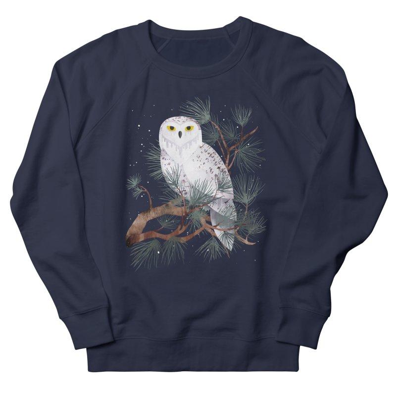 Snowy Men's Sweatshirt by Littleclyde Illustration