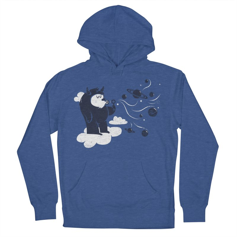 Universal Fun Men's Pullover Hoody by Littleclyde