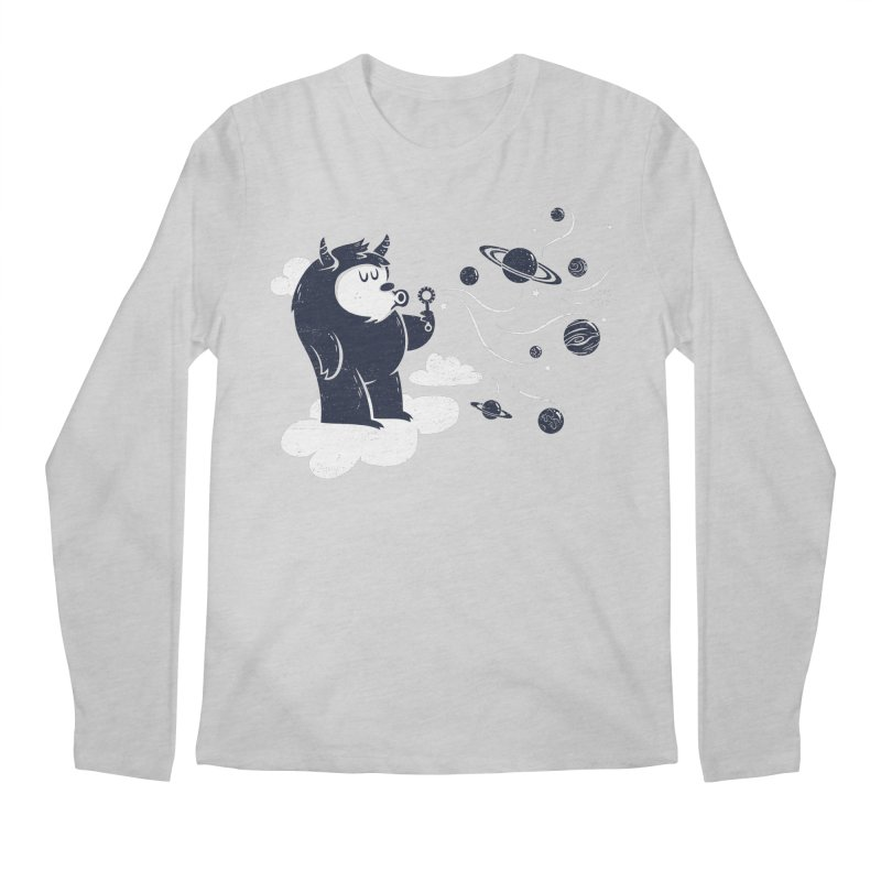 Universal Fun Men's Longsleeve T-Shirt by Littleclyde Illustration