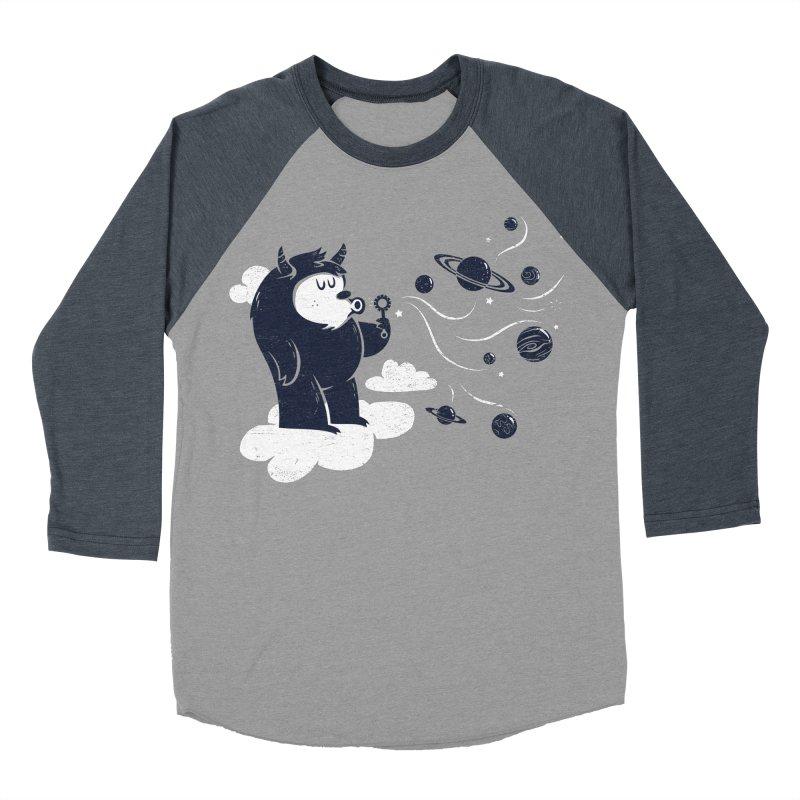 Universal Fun Women's Baseball Triblend T-Shirt by Littleclyde Illustration