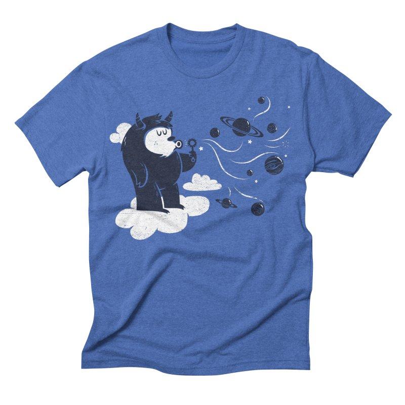 Universal Fun Men's Triblend T-shirt by Littleclyde