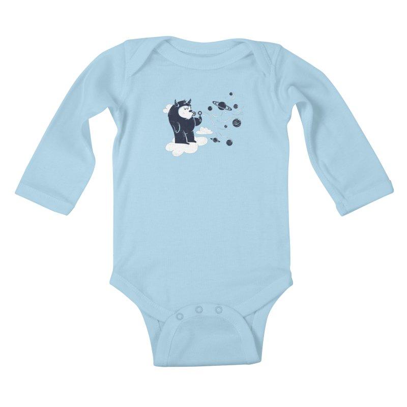 Universal Fun Kids Baby Longsleeve Bodysuit by Littleclyde