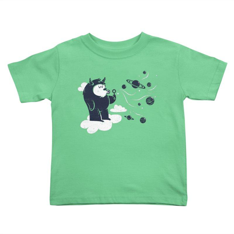 Universal Fun Kids Toddler T-Shirt by Littleclyde