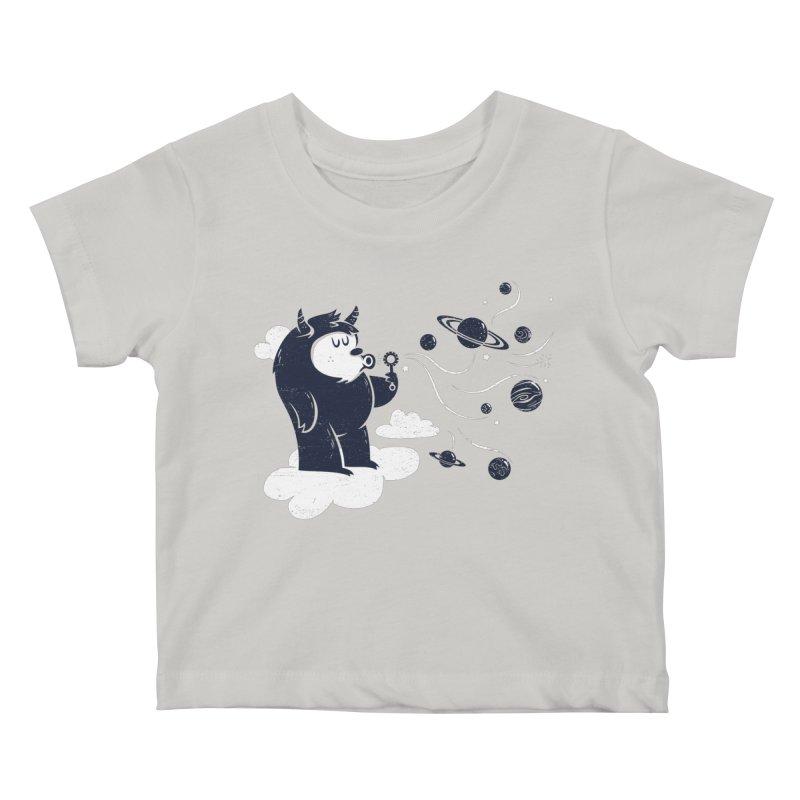 Universal Fun Kids Baby T-Shirt by Littleclyde Illustration