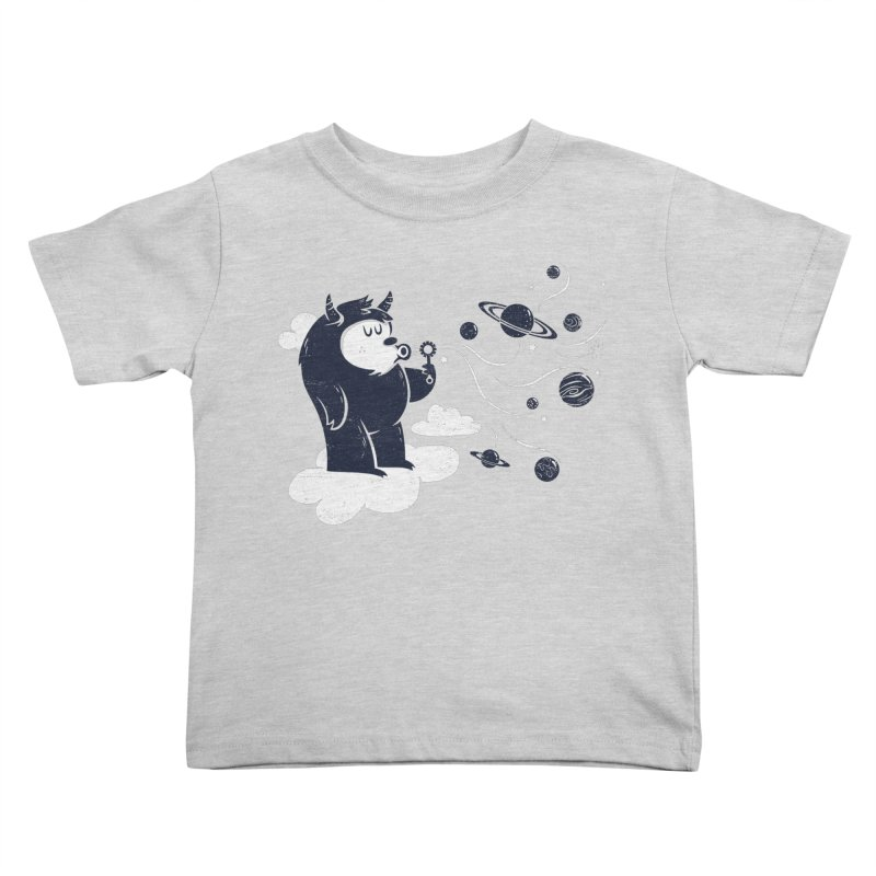 Universal Fun Kids Toddler T-Shirt by Littleclyde Illustration