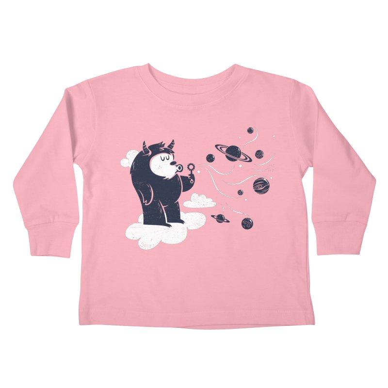 Universal Fun Kids Toddler Longsleeve T-Shirt by Littleclyde Illustration