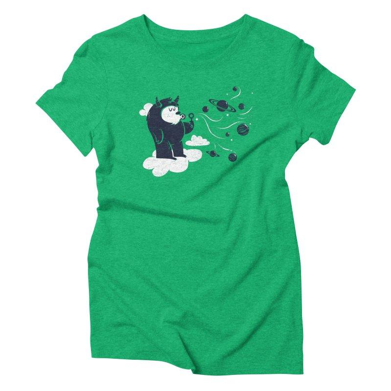 Universal Fun Women's Triblend T-shirt by Littleclyde