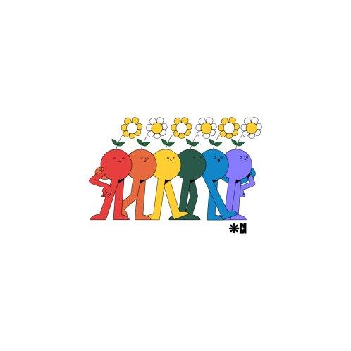 Design for Pride Friends for Charity (White)