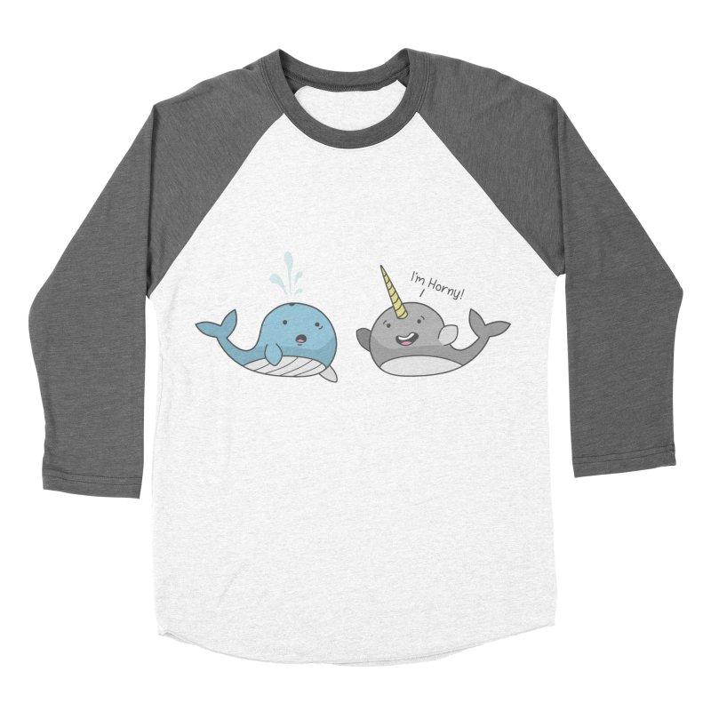 So Horny Women's Baseball Triblend T-Shirt by little g dehttps://www.threadless.com/profile/arti