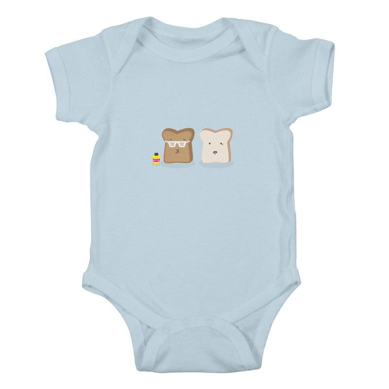 Toasty Cool Kids Baby Bodysuit by little g dehttps://www.threadless.com/profile/arti