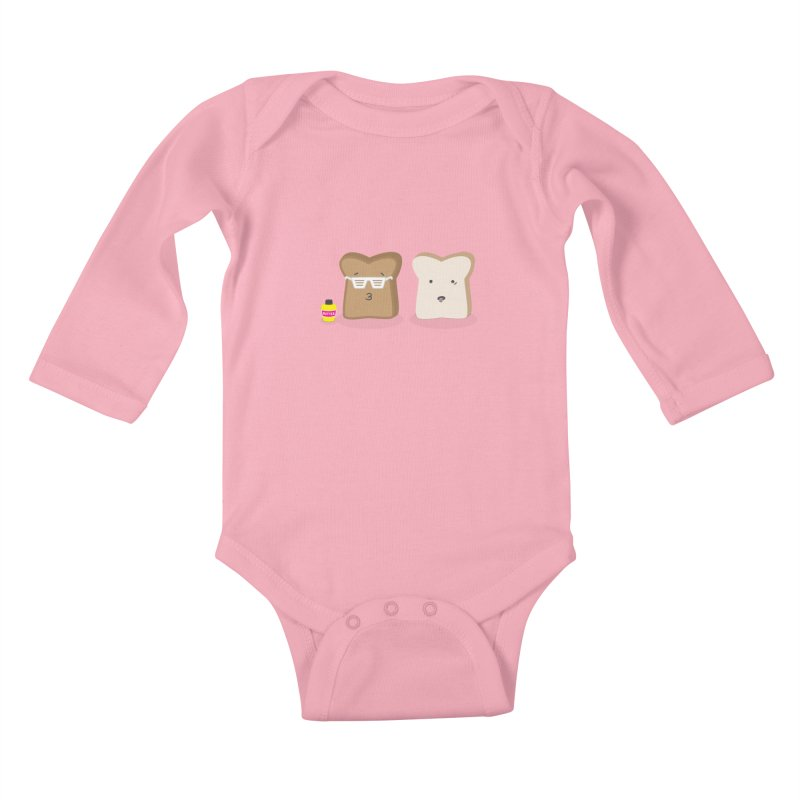 Toasty Cool Kids Baby Longsleeve Bodysuit by little g dehttps://www.threadless.com/profile/arti