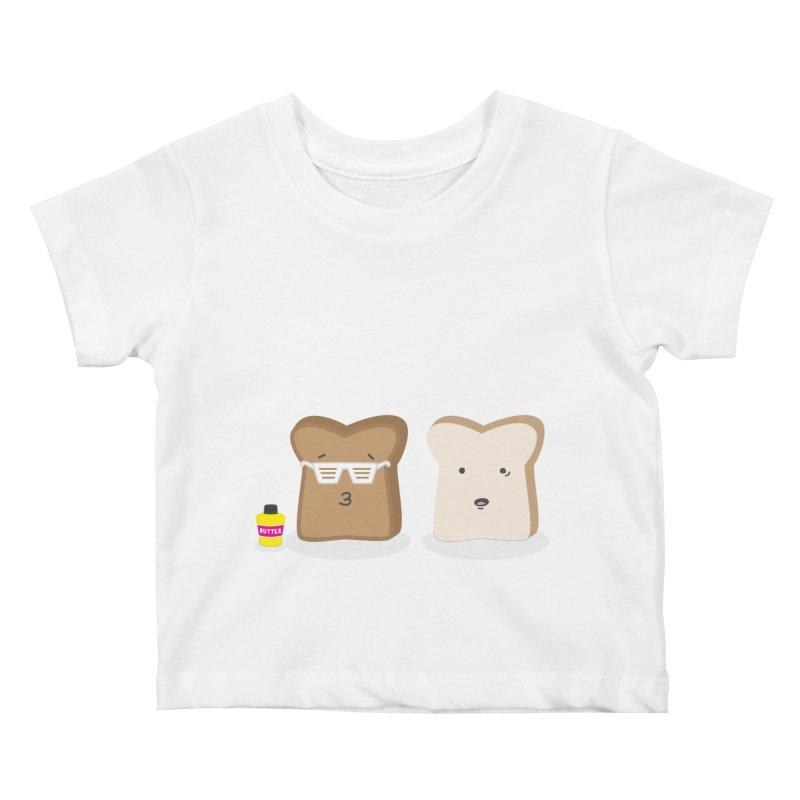 Toasty Cool Kids Baby T-Shirt by little g dehttps://www.threadless.com/profile/arti