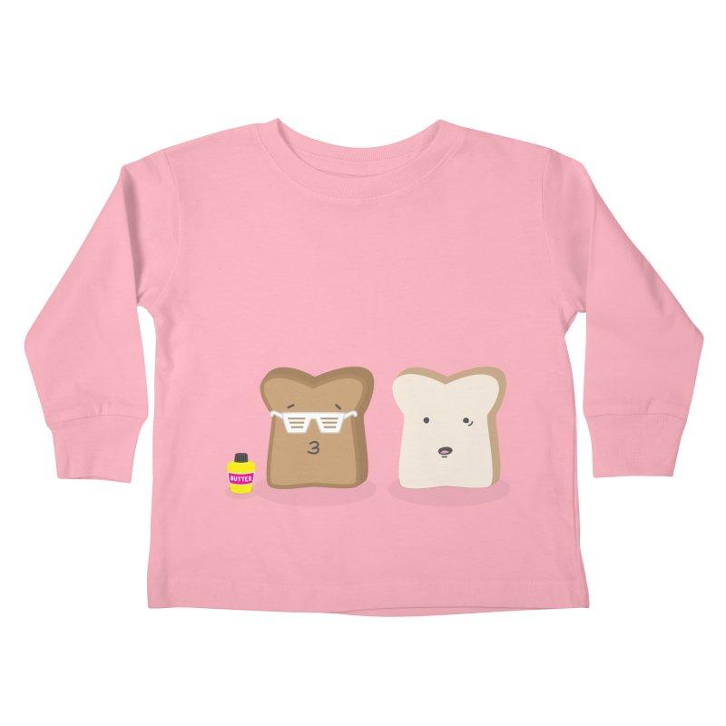Toasty Cool Kids Toddler Longsleeve T-Shirt by little g dehttps://www.threadless.com/profile/arti