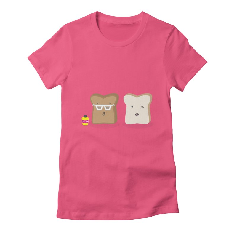 Toasty Cool Women's Fitted T-Shirt by little g dehttps://www.threadless.com/profile/arti