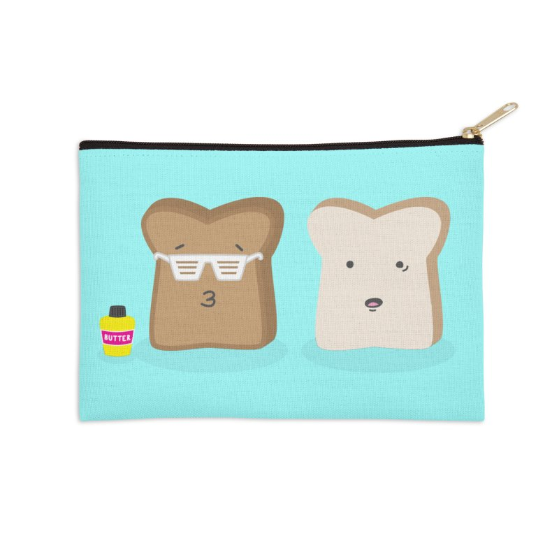 Toasty Cool Accessories Zip Pouch by little g dehttps://www.threadless.com/profile/arti