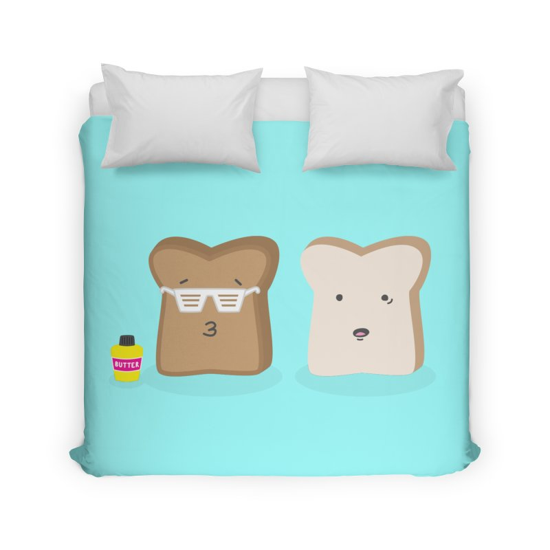 Toasty Cool Home Duvet by little g dehttps://www.threadless.com/profile/arti