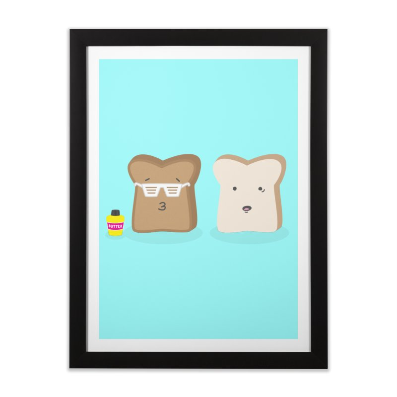 Toasty Cool Home Framed Fine Art Print by little g dehttps://www.threadless.com/profile/arti
