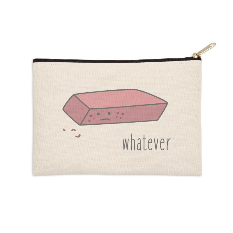 Eraser Accessories Zip Pouch by little g dehttps://www.threadless.com/profile/arti