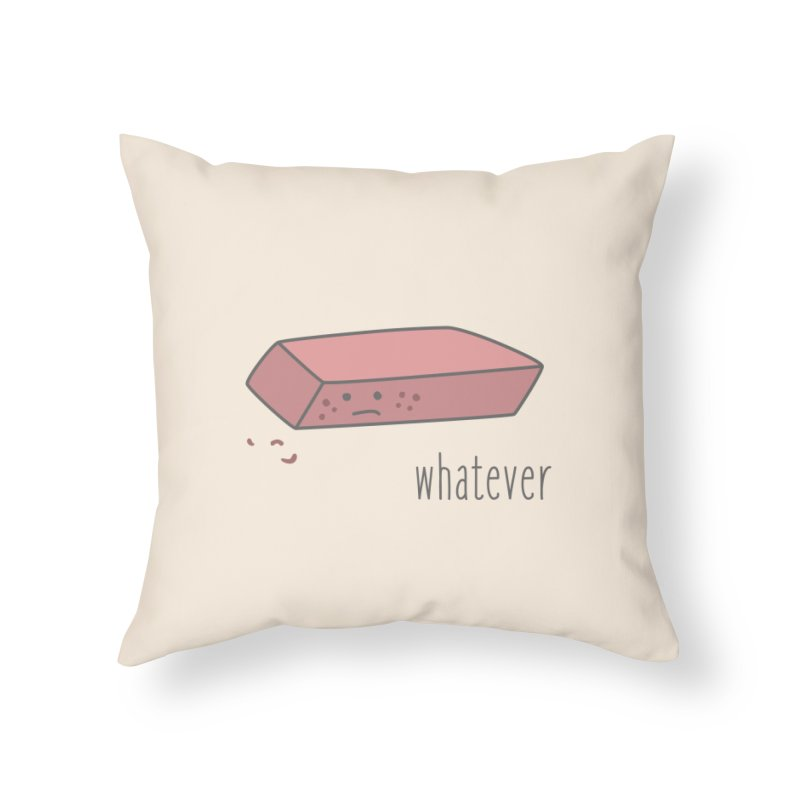 Eraser Home Throw Pillow by little g dehttps://www.threadless.com/profile/arti