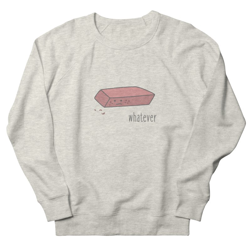 Eraser Men's Sweatshirt by little g dehttps://www.threadless.com/profile/arti