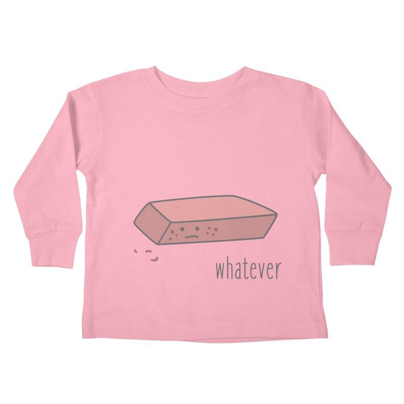Eraser Kids Toddler Longsleeve T-Shirt by little g dehttps://www.threadless.com/profile/arti