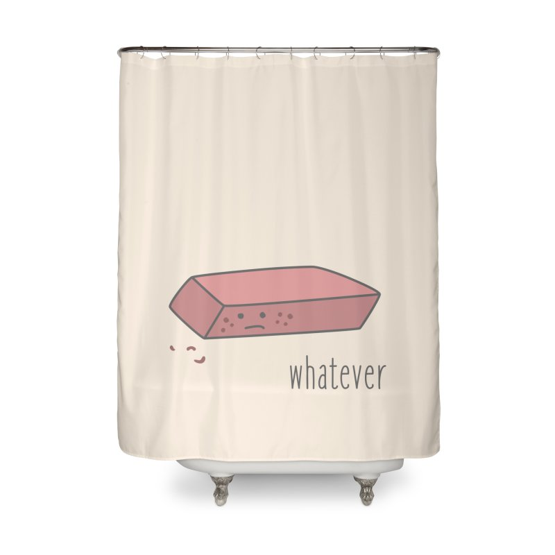 Eraser Home Shower Curtain by little g dehttps://www.threadless.com/profile/arti