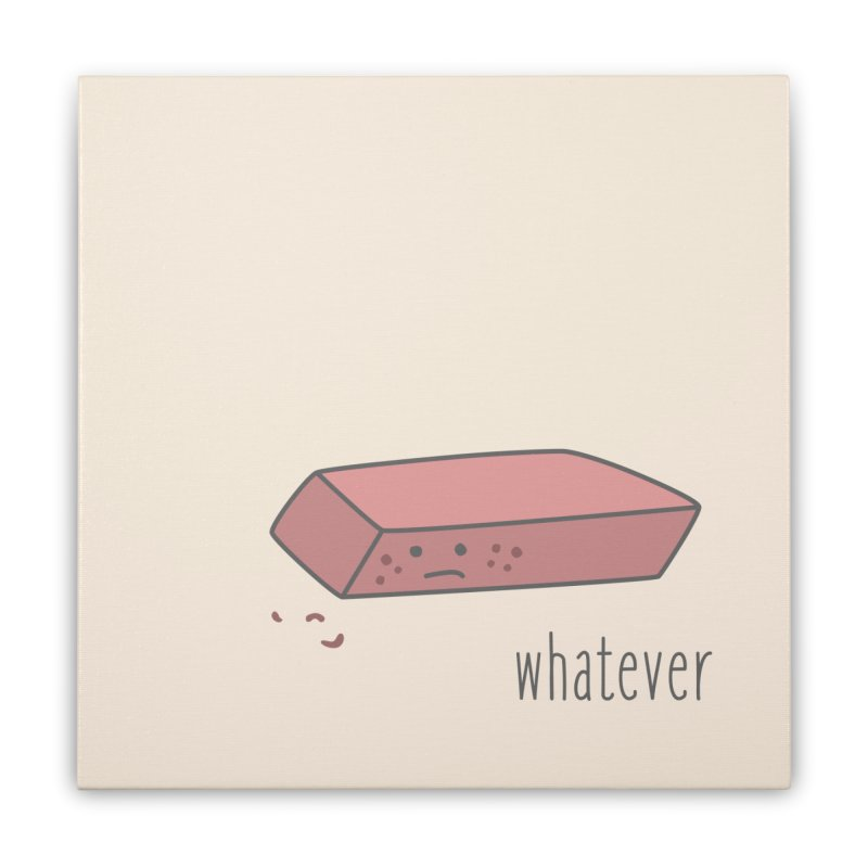 Eraser Home Stretched Canvas by little g dehttps://www.threadless.com/profile/arti