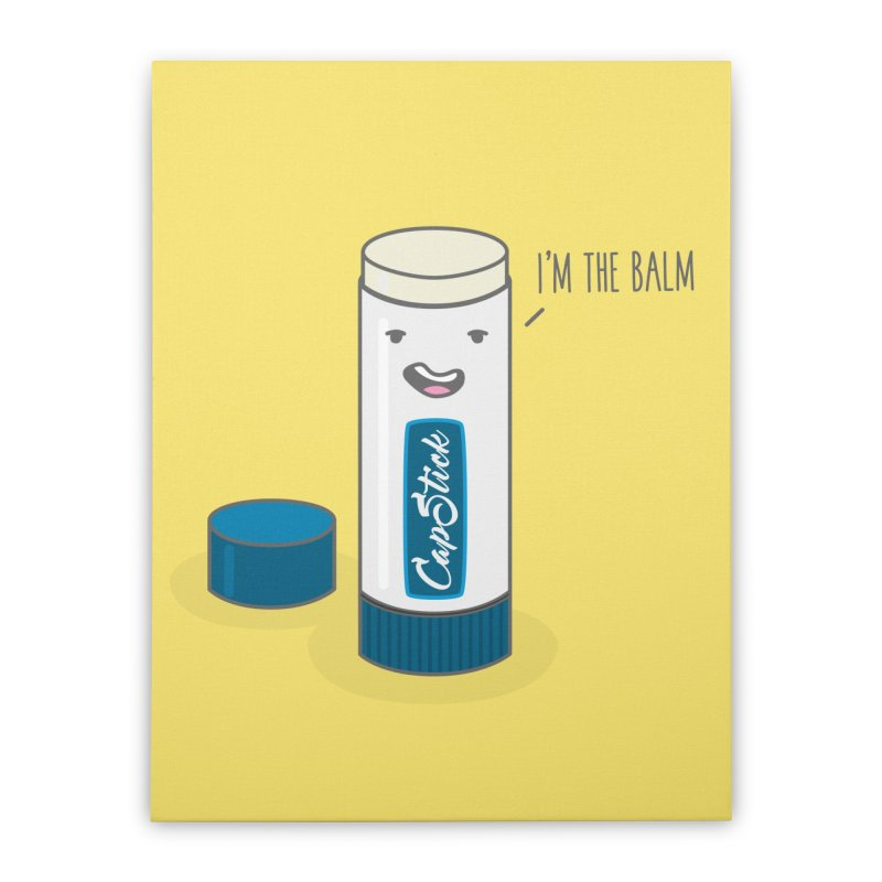 The Balm Home Stretched Canvas by little g dehttps://www.threadless.com/profile/arti