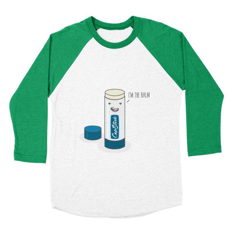 The Balm Men's Baseball Triblend T-Shirt by little g dehttps://www.threadless.com/profile/arti