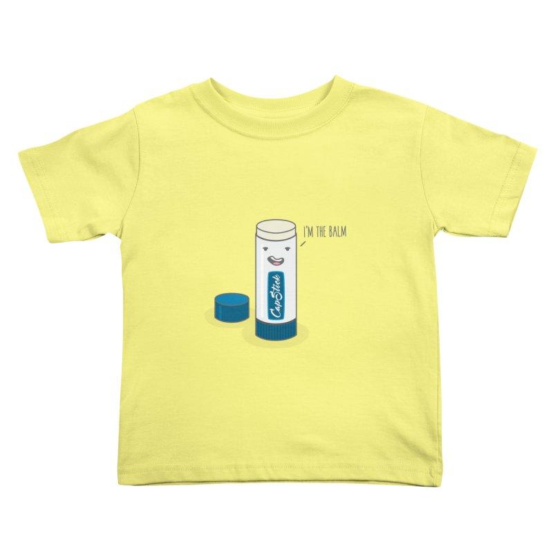 The Balm Kids Toddler T-Shirt by little g dehttps://www.threadless.com/profile/arti