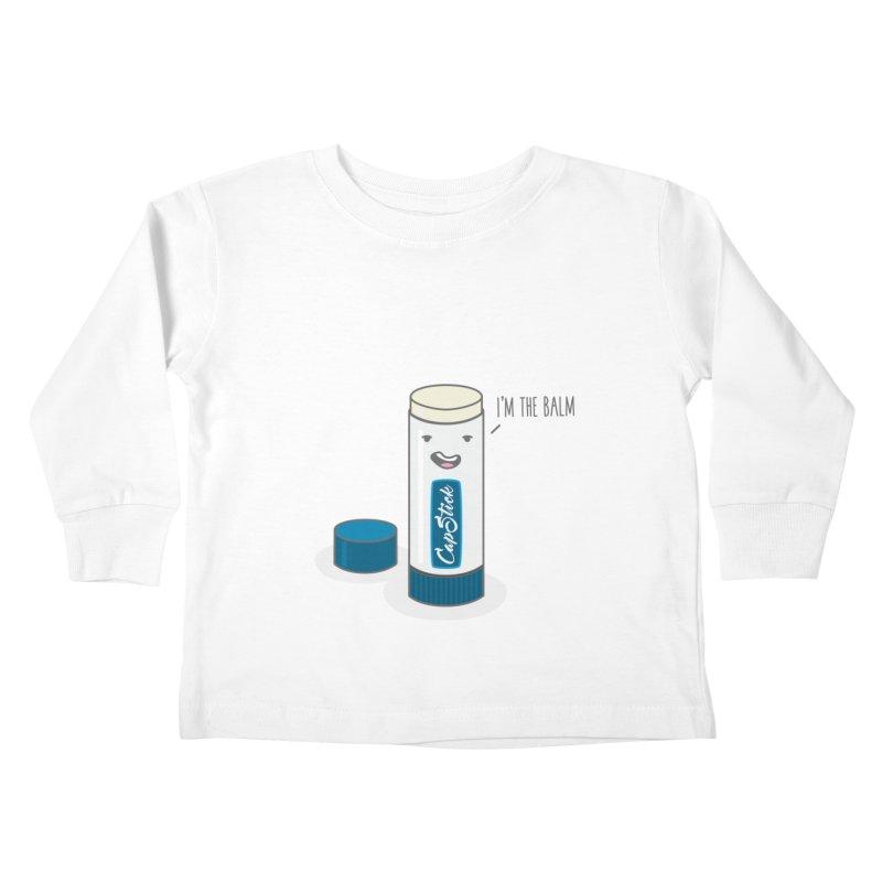 The Balm Kids Toddler Longsleeve T-Shirt by little g dehttps://www.threadless.com/profile/arti