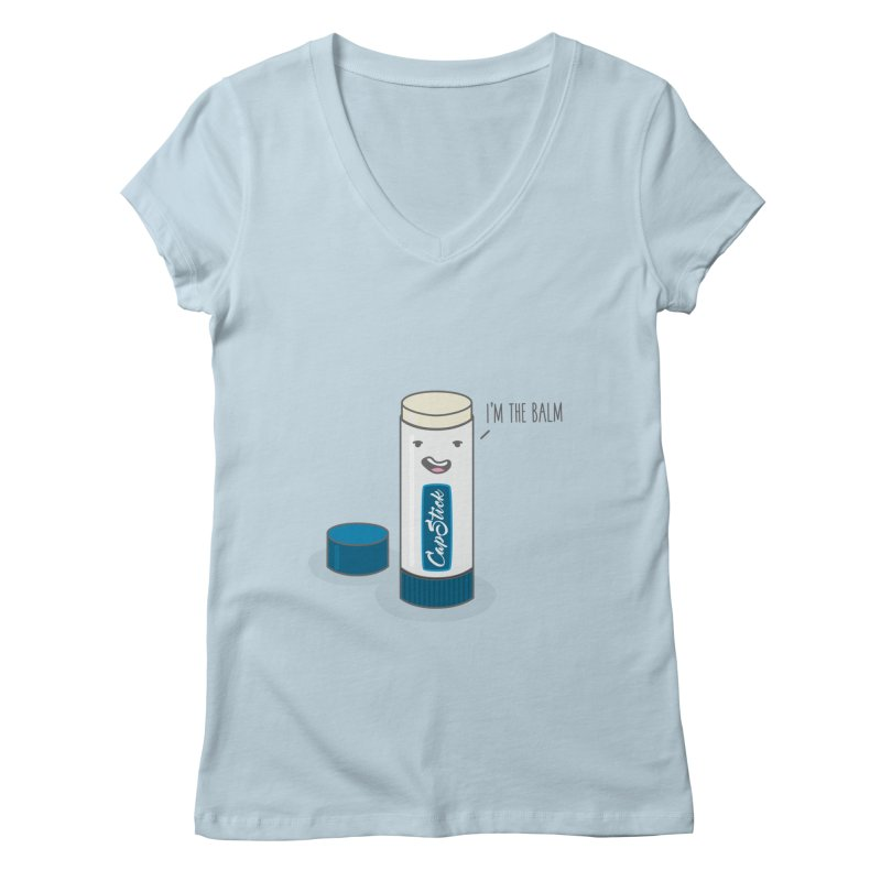 The Balm Women's V-Neck by little g dehttps://www.threadless.com/profile/arti
