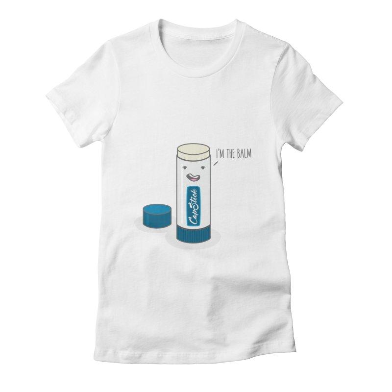 The Balm Women's Fitted T-Shirt by little g dehttps://www.threadless.com/profile/arti